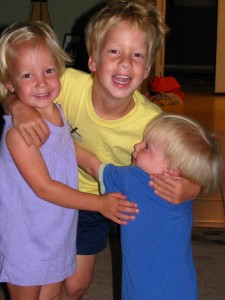 They've had sweet fun together this summer, but I think we're all ready for the routine of school to get going!
