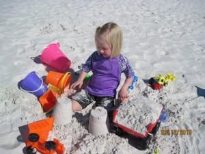 Tia sand castle