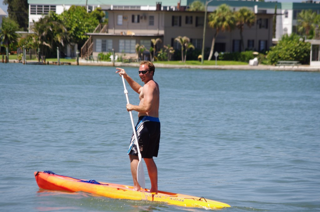 Paddle Boarding.  This is good fun.