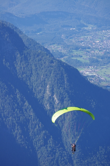 We spent a good deal of time watching local paragliders take off. And I wished desperately one of them would take me along.