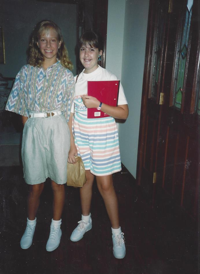 1991: The year of the Coolats, AKA 7th Grade, AKA The year I grew into my nose...