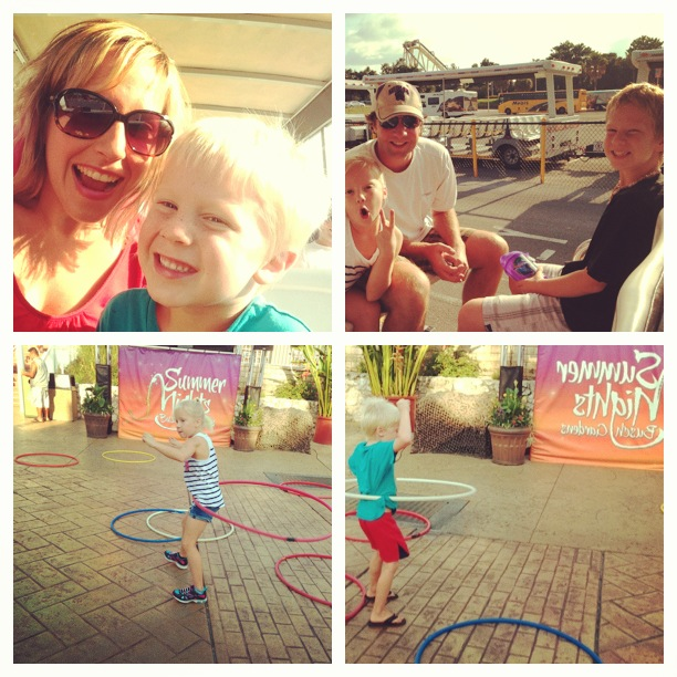 We enjoyed Busch Gardens Summer Nights excitement last night.