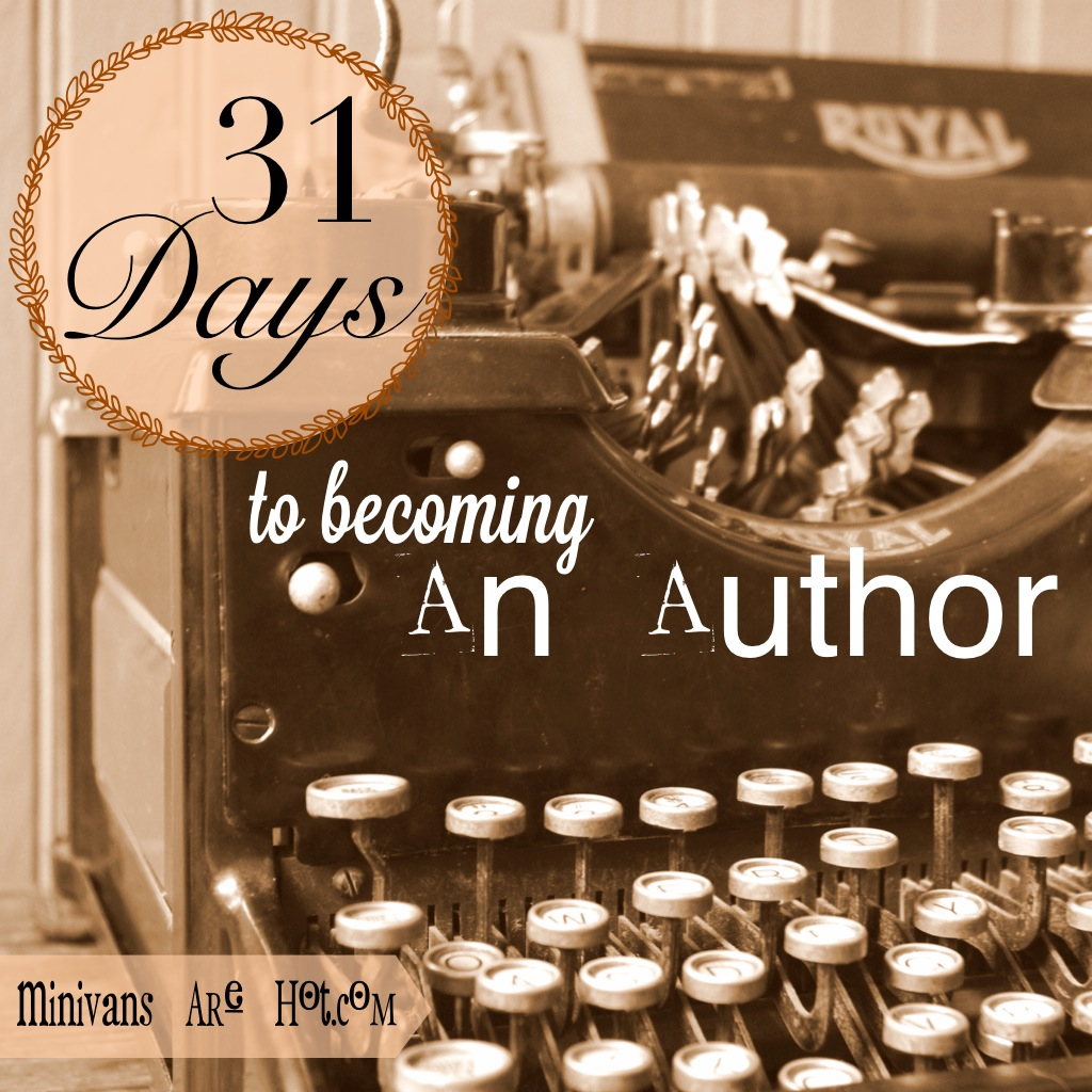 31Days to Becoming an Author
