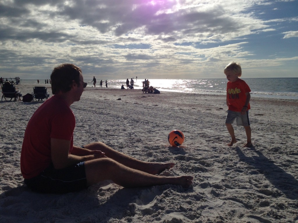 Day after Thanksgiving. Beach. Perfection.