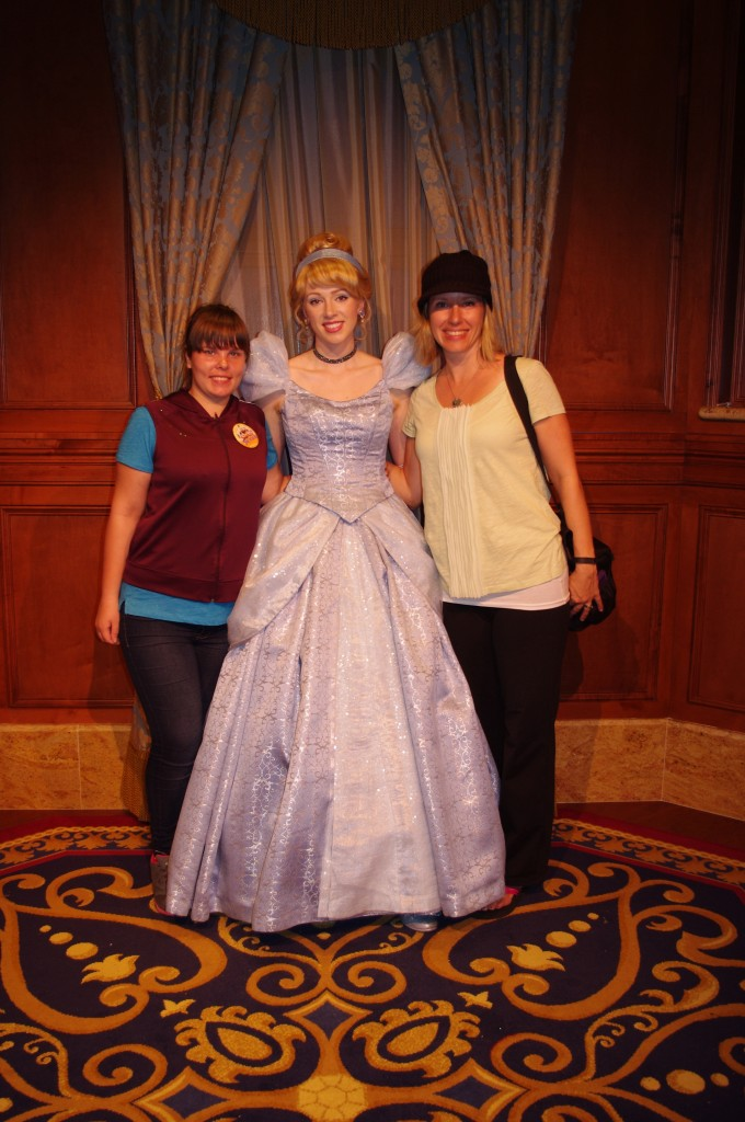 Even if you've never seen the Cinderella movie, you can still be in awe of a real, live princess.